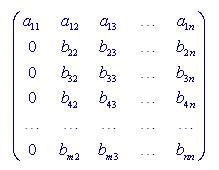 Chuẩn hóa cột 1 để đưa về dạng b�c thang dòng