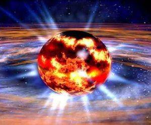 Ẩn tinh là những ngôi sao chết siêu đặc, quay nhanh và giải phóng nhiều năng lượng vào không gian xung quanh. Ảnh: space.com.